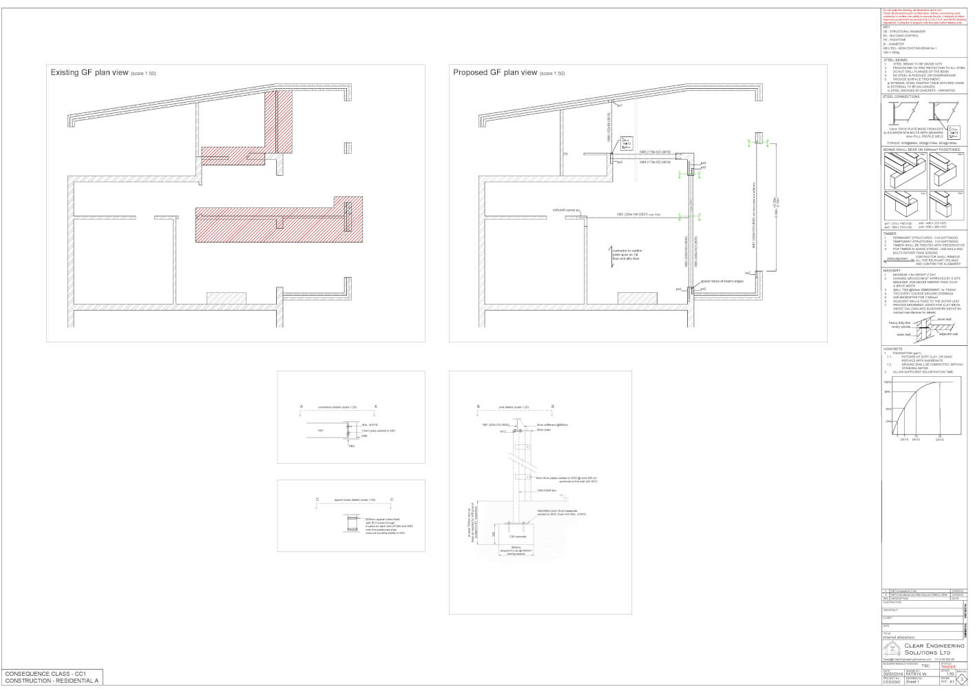 House extension with attic conversion
